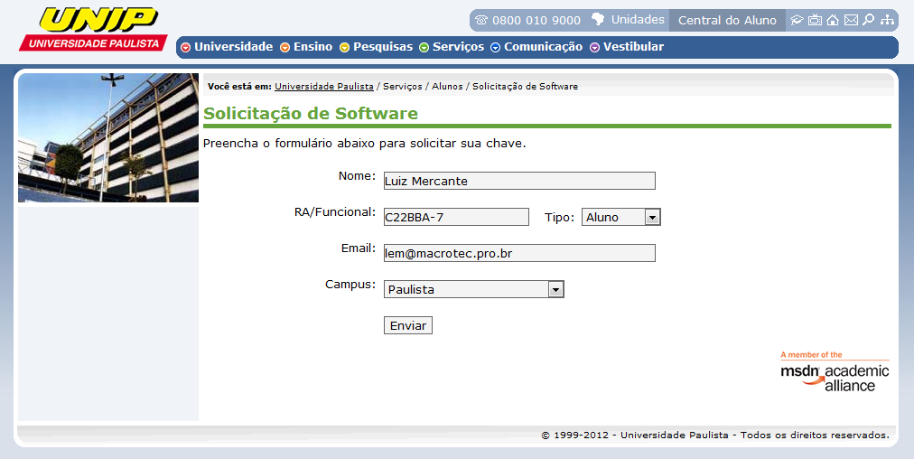 Softwares UNIP